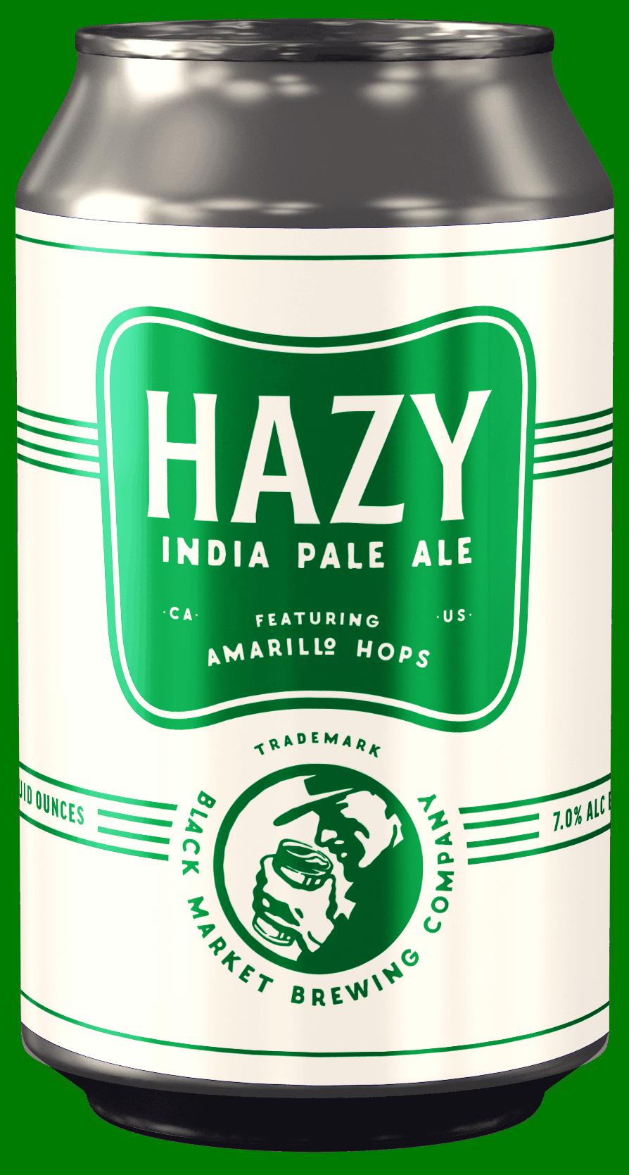 Hazy IPA can