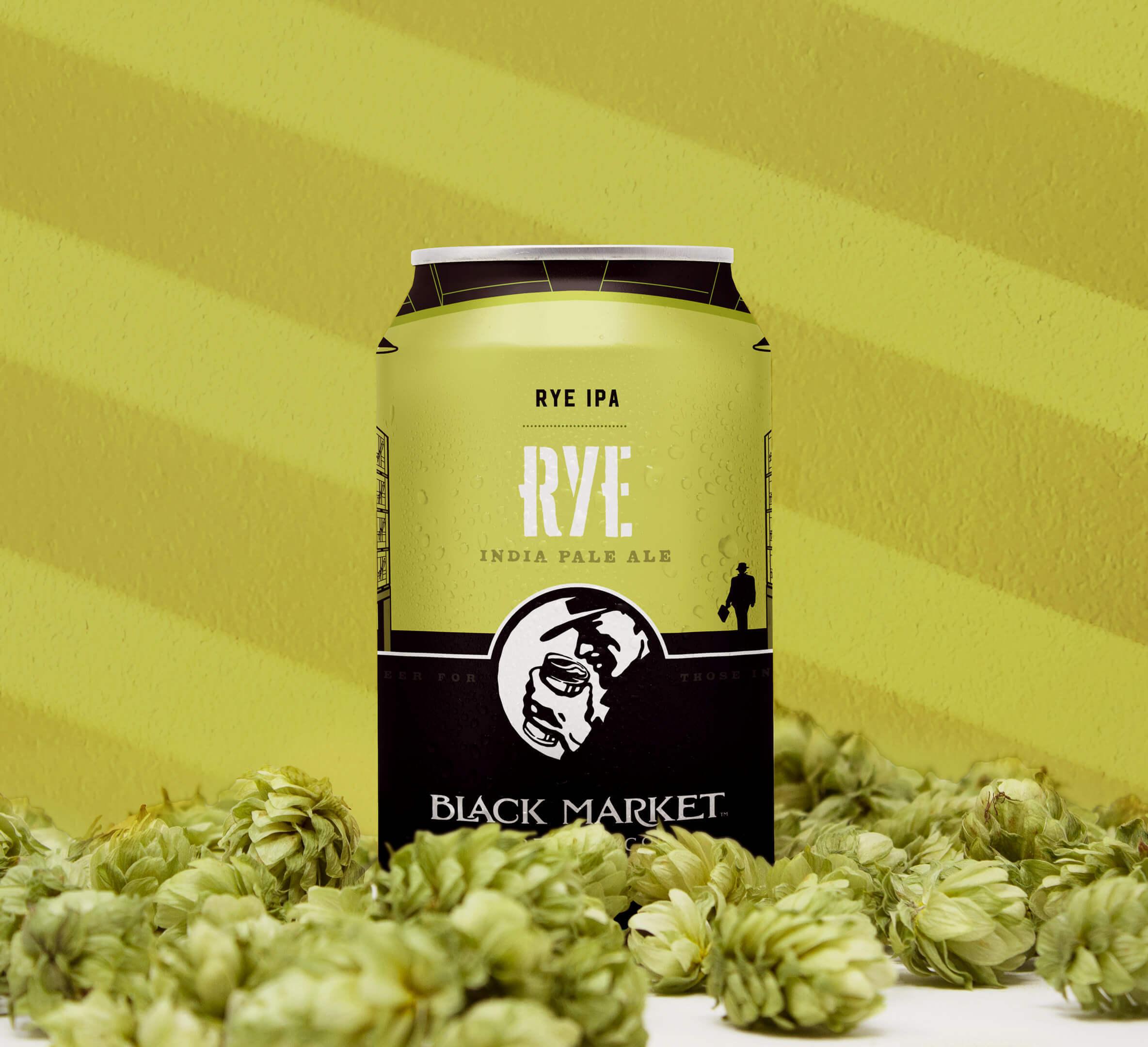 Rye IPA Can Homepage
